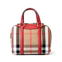 BURBERRY バーバリー ハンドバッグ 3980844 RUSSET RED SMALL ALCHESTER