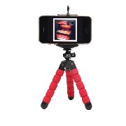 【Xsories】 MINI DELUXE TRIPOD WITH PHONE HOLDER /レッド