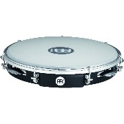 "MEINL Percussion マイネル パンデイロ Traditional ABS Pandeiro Synthetic Head 10"" PA10ABS-BK 【国内正規品】"