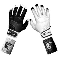 カッターズ メンズ 野球 グローブ 手袋【Cutters Prime Command Yin Yang Batting Gloves】Black/White【10P03Dec16】