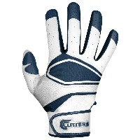カッターズ メンズ 野球 グローブ【Cutters Prime Hero Pro Batting Gloves】White/Navy【10P03Dec16】