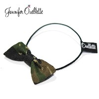 ≪Jennifer Ouellette≫ ジェニファー・オーレット迷彩 カモフラージュ リボン ヘアゴム Bow with Pony Hair Band(Camo)【...