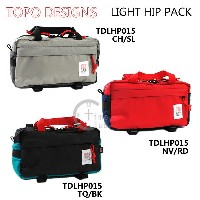 TOPO DESIGNS (トポ デザイン) ウエストバッグ LIGHT HIP PACK TDLHP 015 3way ウエストポーチ ヒップバッグ ボディバッグ ...