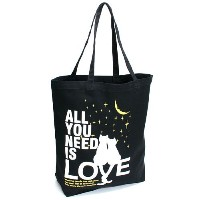 SCOPY (スコーピー) ネコ好き のための 猫柄 トートバッグ ALL YOU NEED IS LOVE