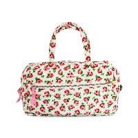 Cath Kidston キャスキッドソン 2014-2015年秋冬 コスメティックバッグ 415620 Quilted Large Cosmetic Bag Handles White [並行輸入...