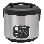 Aroma 20-Cup (Cooked) Digital Rice Cooker and Food Steamer, Stainless Steel [並行輸入品]