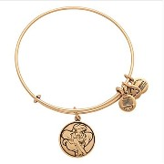 Disney World Alex and Ani Ariel Little Mermaid Gold Charm Bangle Bracelet by Disney [並行輸入品]