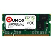 QUMOX 1GB DDR SODIMM(200 pin)333MHz DDR333 PC2700 ノートパソコン メモリ