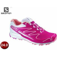 【nightsale】 salomon/サロモン L37320900-C8921 SENSE PRO W 【24.0】 (LOTUS PINK/White/MELON BLOOM)