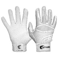 カッターズ メンズ 野球 グローブ【Cutters Prime Command Solid Batting Gloves】White【10P03Dec16】