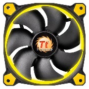 Thermaltake CPUクーラー Riing 12 イエロー CL-F038-PL12YL-A [CLF038PL12YLA]【SPOA】【10P03Dec16】