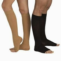 Tonus 18-21 mmHg (Moderate Grade Class I) Knee High Medical Compression Stockings with OPEN Toe, MODERATE Grade Class I (Body height 62.2-66.9 inch) ...