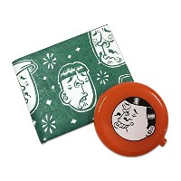 """LIXTICK PAPER WALLET (ペーパーウォレット) """"FACE"""" by ESOW 【限定コインケースセット】 (GREEN)"""