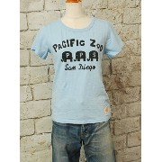 【sale セール】【45%OFF】PACIFIC PARK STORE(パシフィックパークストア)スラブ天竺半Tee pacific zoo pps-20335【ネコポ...