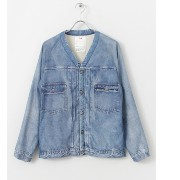 Sonny Label VOTE MAKE NEW CLOTHES 3D DENIM JACKET【アーバンリサーチ/URBAN RESEARCH ブルゾン・スタジャン】