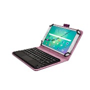 Cooper Cases (TM) Touchpad Executive Acer Iconia Tab 7 A1-713 Bluetoothキーボードフォリオ(パープル)(上質なビジネススタイ...
