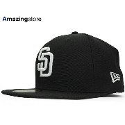 NEW ERA SAN DIEGO PADRES 【TEAM-BASIC/BLACK-WHITE】 ニューエラ サンディエゴ パドレス 59FIFTY フィッテッド キャップ FITTED CAP...