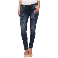 Blank NYC Embroidered Skinny in Blue