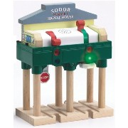 Learning Curve ラーニングカーブ きかんしゃトーマス 木製レール Thomas And Friends Wooden Railway - Deluxe Over - The - Track Signal