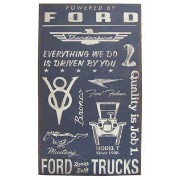 *YA* アメリカ看板 373753 Ford Hollow MDF Wall Plaque SIGN 61CMx35CMx5CM