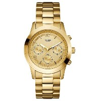 GUESS ゲス フェミニン メンズ腕時計 FEMININE U13578L1 CONTEMPORARY WATCH - GOLD