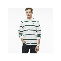 【SALE/30%OFF】LACOSTE (M)シェブロン編み ボーダー ポロシャツ (長袖) ラコステ カットソー【RBA_S】【RBA_E】【送料...