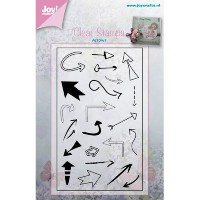 【2016 Winter Special SALE!!!】【6410-0388】Joy! Crafts/ジョイ・クラフツ/Clear Stamps/クリアスタンプ/Arrows スクラップブッ...