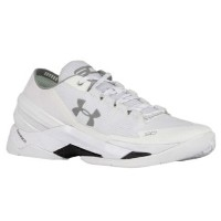 "Under Armour Curry 2 Low ""SHEF""メンズ White/Metallic Silver アンダーアーマー カリー2 バッシュ ステフィンカリー"