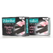 115g×2個セット クリーム & 炭 石鹸 Flawless & Clean with Charcoal Powder 115g Palmolive パルモリーブ [並行輸入品]