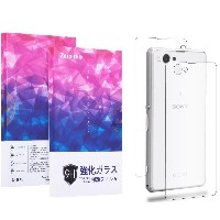 Zeroire®「30日間返金保障」SONY Xperia Z1f / A2 / J1 Compact 液晶保護ガラスフィルム 9H 飛散防止(Z1f/A2/J1 Compact)
