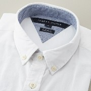 SOLID OXFORD S/S SHIRT/トミーヒルフィガー(メンズ)(TOMMY)【10P03Dec16】