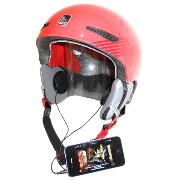 KOKKIA H10black_X2_Ysplitter (BLACK cables) 2 H10_ブラック スポーツ/motorcycle ヘルメット earphones (stereo) and Y-Splitter, グレー...