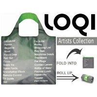 LOQI/ローキー エコバッグ TYPE 【Things to Pack】 【LOQI Eco Bag】収納ポーチ付き。ドイツ ナイロン 軽量 トート マザ...