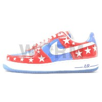 【US9.5】NIKE AIR FORCE 1 PREMIUM 312945-411 vars royal/white-vars red エアフォース 未使用品【中古】