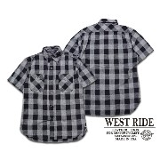 【WESTRIDE ウエストライド】半袖シャツ/16SS ONE SNAP WORK SHIRTS★REALDEAL