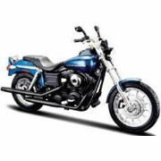 1/12 H-D Motorcycles - Dyna Super Glide Sport(メタリックブルー)【MS32321】 【税込】 Maisto [MS32321 H-D Motorcycles]【返品種別B...