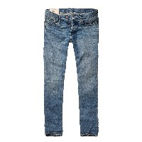 【Hollister Co】 ホリスター メンズ / スキニージーンズ / ライトウォッシュ 【30 × 32】 【Hollister Skinny Jeans】 並行...