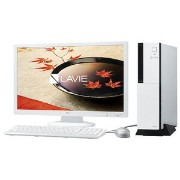 PC-DT750FAW【税込】 NEC デスクトップパソコンLAVIE Desk Tower DT750/FAW※23型ディスプレイ セットモデル (Office Home&Business...