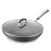 Simply Calphalon 12-Inch Nonstick Covered Omelette Pan [並行輸入品]