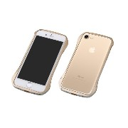 Deff ディーフ アルミバンパー Cleave Aluminum Bumper Limited Edition for iPhone 7 (iPhone 7, ゴールド/シルバー)