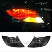 US BMW F Style Rear Black Tail Light Hyundai 2011-2016