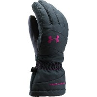 アンダーアーマー Under Armour レディース スキー グローブ【Mountain Glove】Stealth Gray/Magenta Shock