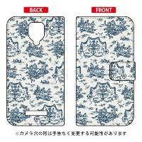 【送料無料】 手帳型スマートフォンケース SINDEE 「Toile De Jouy」 / for AQUOS PHONE Xx 302SH/SoftBank 【SECOND SKIN】【手帳...