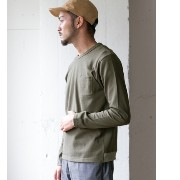 DOORS modem design SOLID LONG-SLEEVE T-SHIRTS【アーバンリサーチ/URBAN RESEARCH Tシャツ・カットソー】