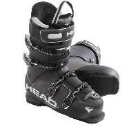 ヘッド Head メンズ スキー シューズ・靴【Adapt Edge 125 Alpine Ski Boots】Antracite/Black