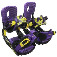 AIRWALK エアウォーク SNOWBOARD BINDING AWBG620 BLACK/PURPLE S-M