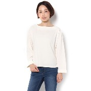 TRポンチバックリボンLS【アパートバイローリーズ/apart by lowrys Tシャツ・カットソー】