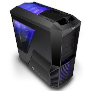 Zalman Z11 Plus Midi Tower Case (ATX, M-ATX, Supports Bottom PSU Installation and Aperture for Cable Management, Anti-Vibration Rubber Stand)