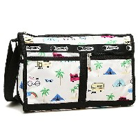 レスポートサック バッグ LESPORTSAC 7519 D836 DELUXE SHOULDER SATCHEL ショルダーバッグ ROADTRIP VACA CREAM