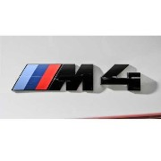 "BMW ""M4"" エンブレム(ブラック) Competition package"